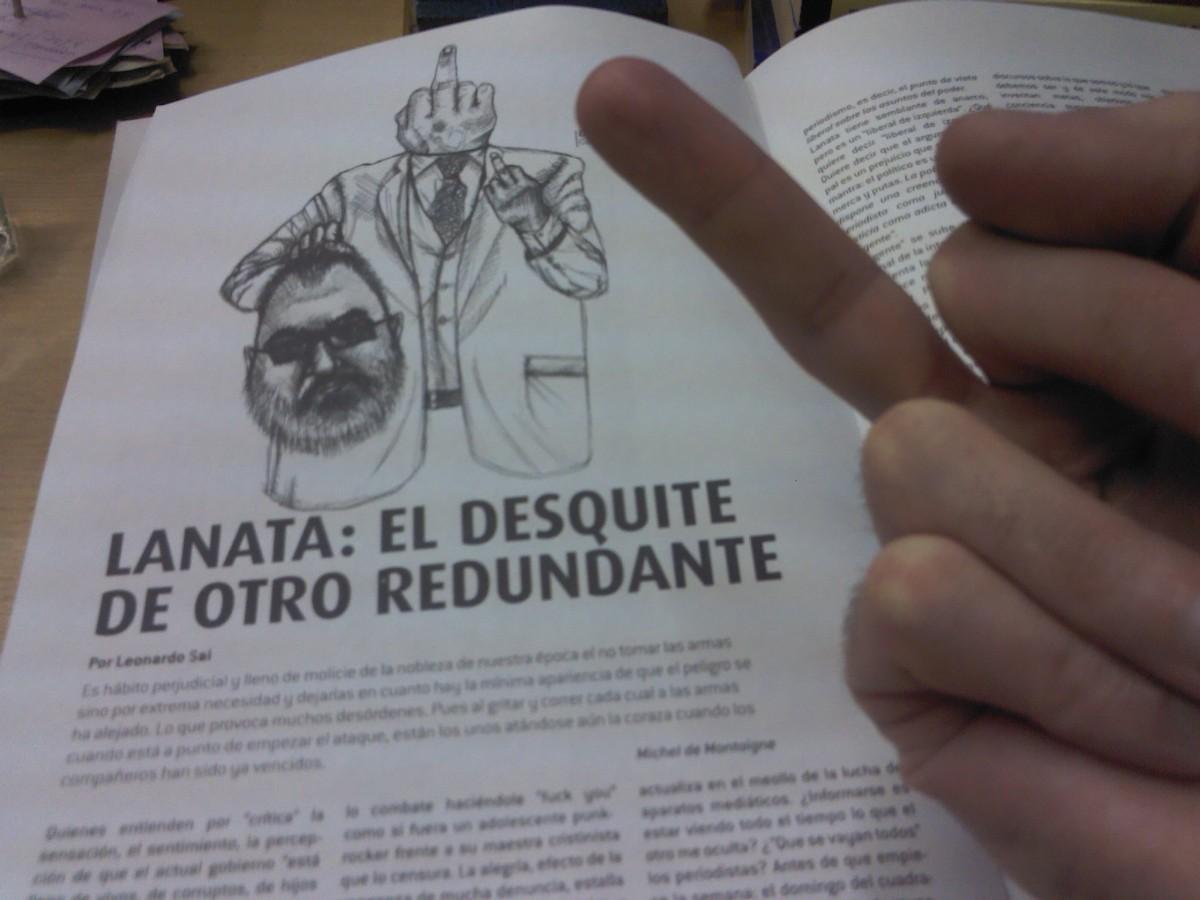 Contra el periodismo mercenario en SOL DE NOCHE Nº2