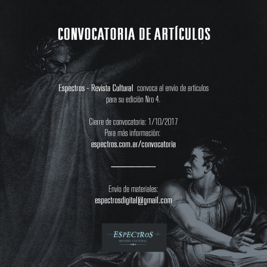Convocatoria Espectros