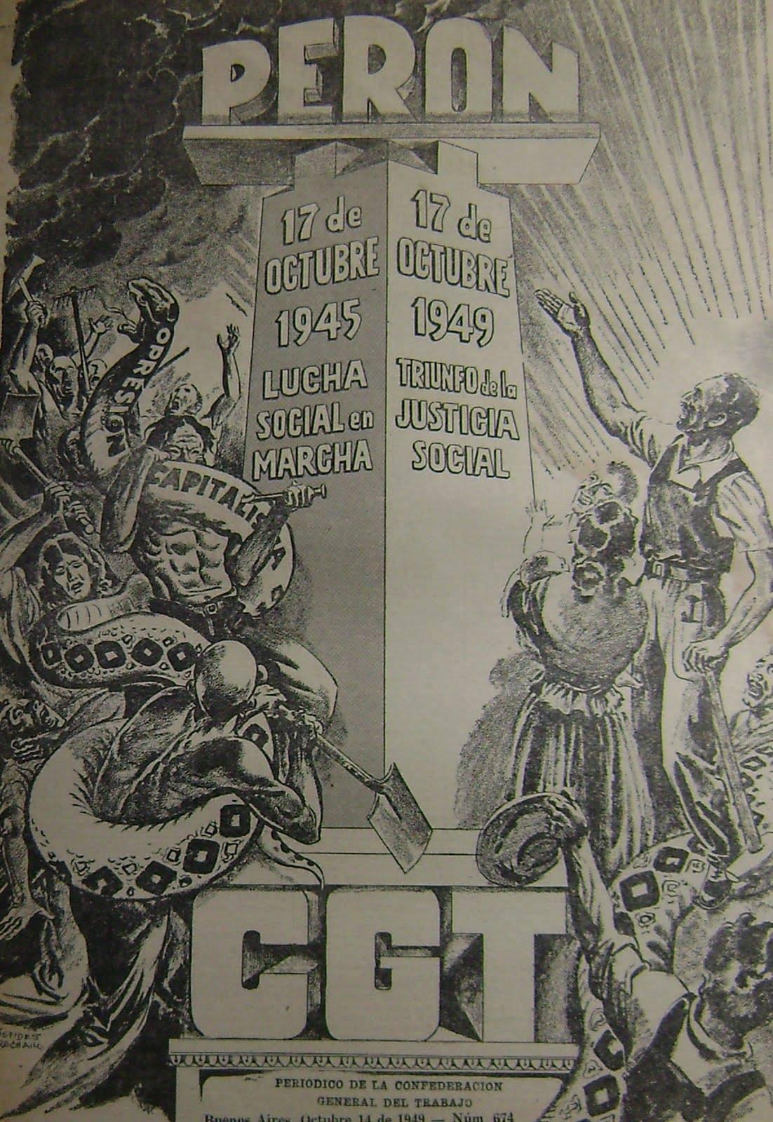 Confederación General del Trabajo.